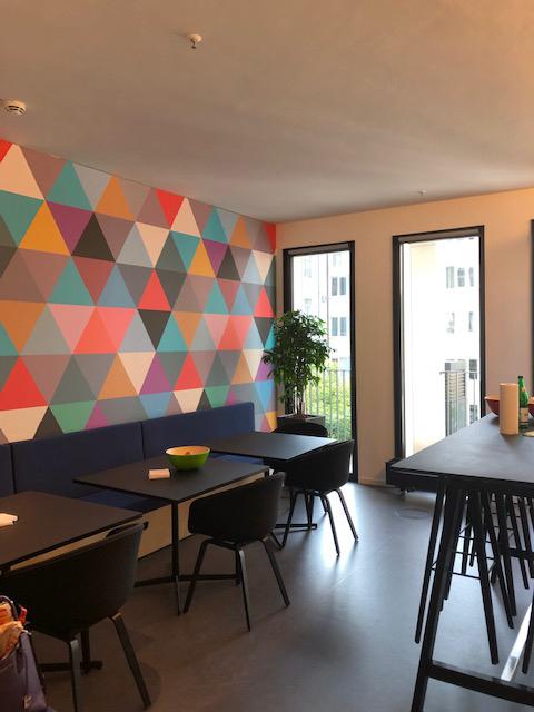 Modern interior at our Hamburg location.