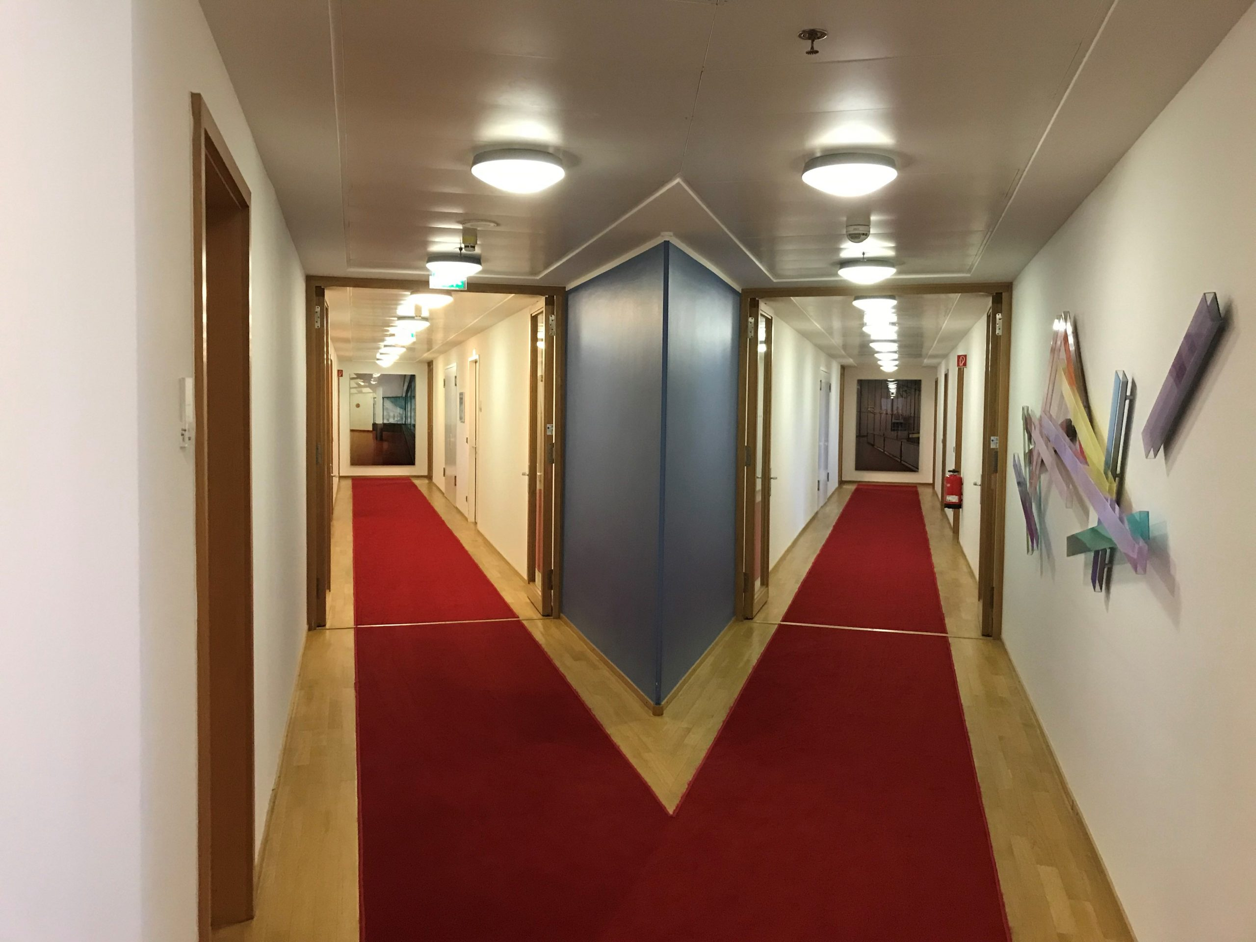 In the hallways of our Berlin office.