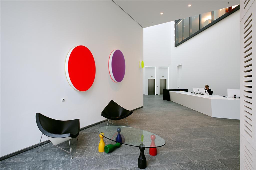 Modern office design in Hamburg.