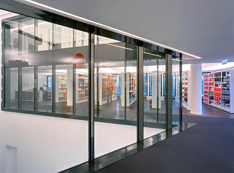 Offene Architektur am Standort Hamburg.