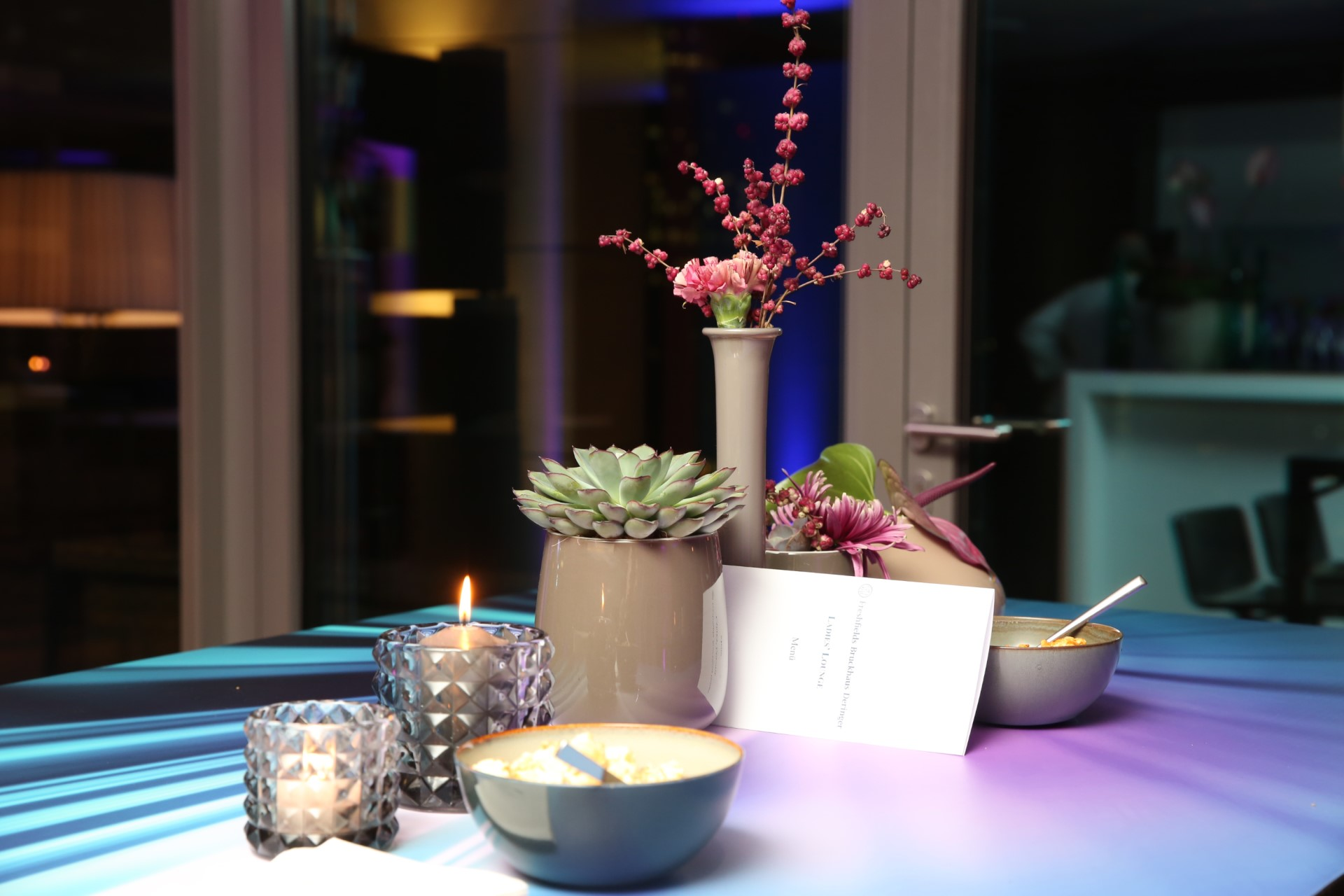 Ladies Summer Lounge an unserem Standort Frankfurt.